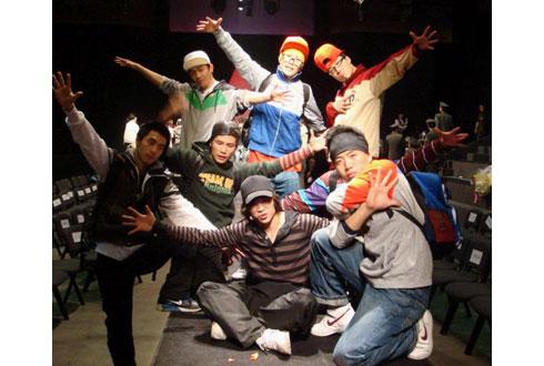 街舞舞蹈造型-街 舞 上海演出经纪 演艺经纪公司,我们更专业图片